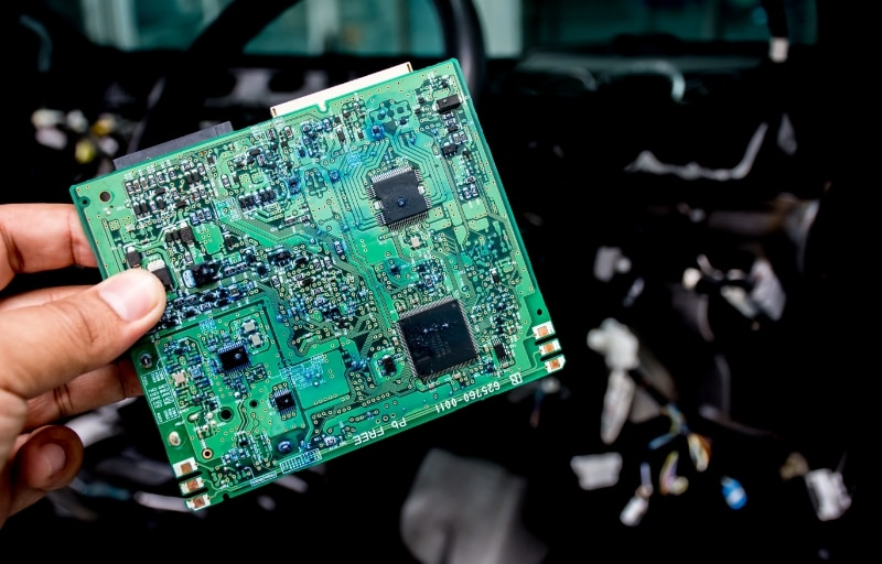 Chiptekort auto's Prodrive Academy